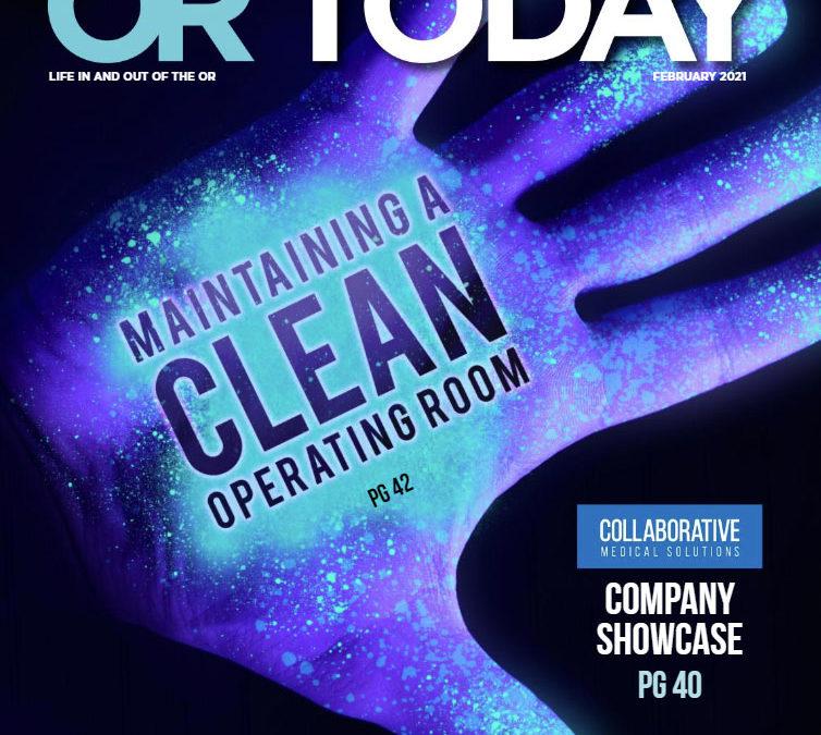 OR Today Magazine February 2021