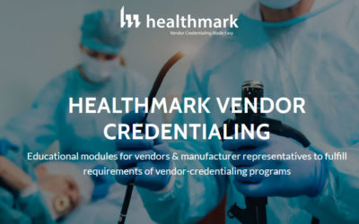 Healthmark Offers New Vendor Credentialing Program