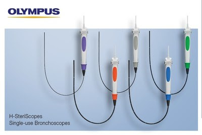 Olympus Launches New Line of Five Single-Use Bronchoscopes