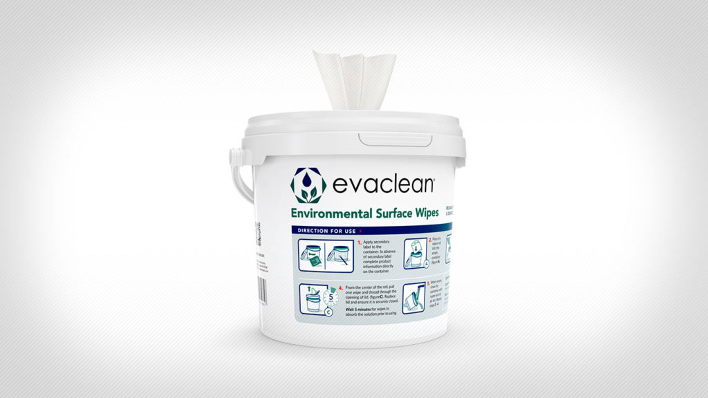 EarthSafe Launches EvaClean Disposable Surface Disinfection Wipes