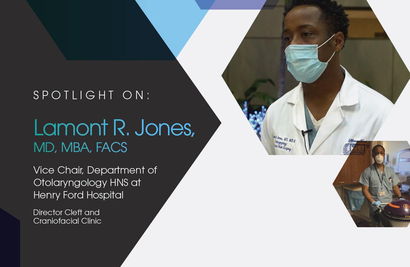 Spotlight On: Lamont R. Jones