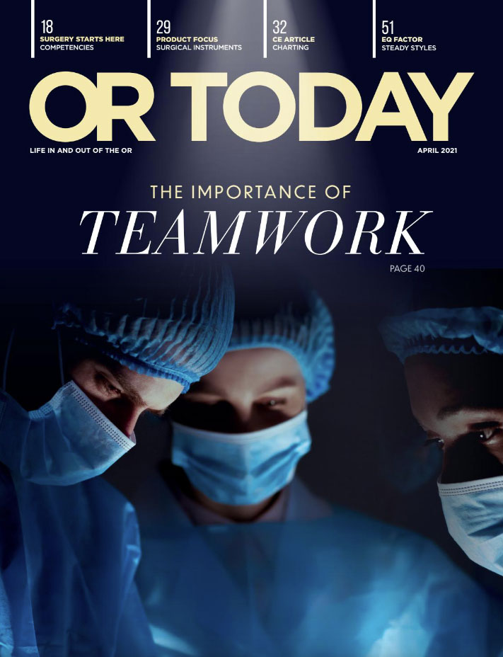 OR Today Magazine April 2021