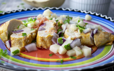 Cuban Chicken with Salsa Fresca