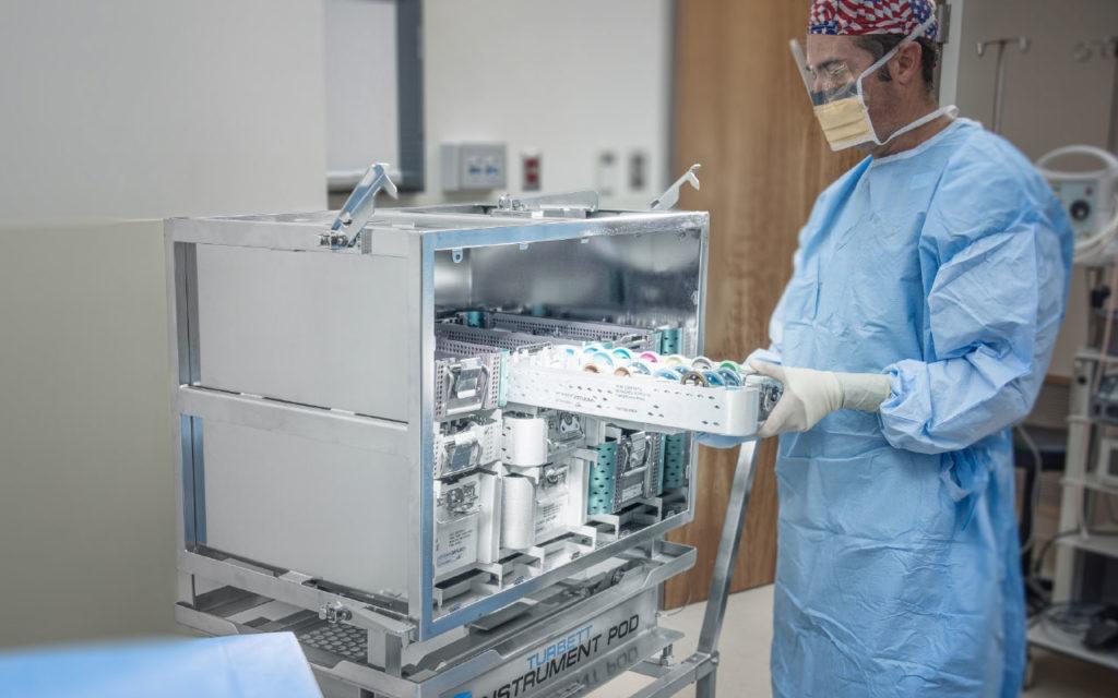 Turbett Surgical Inc. Instrument Pod