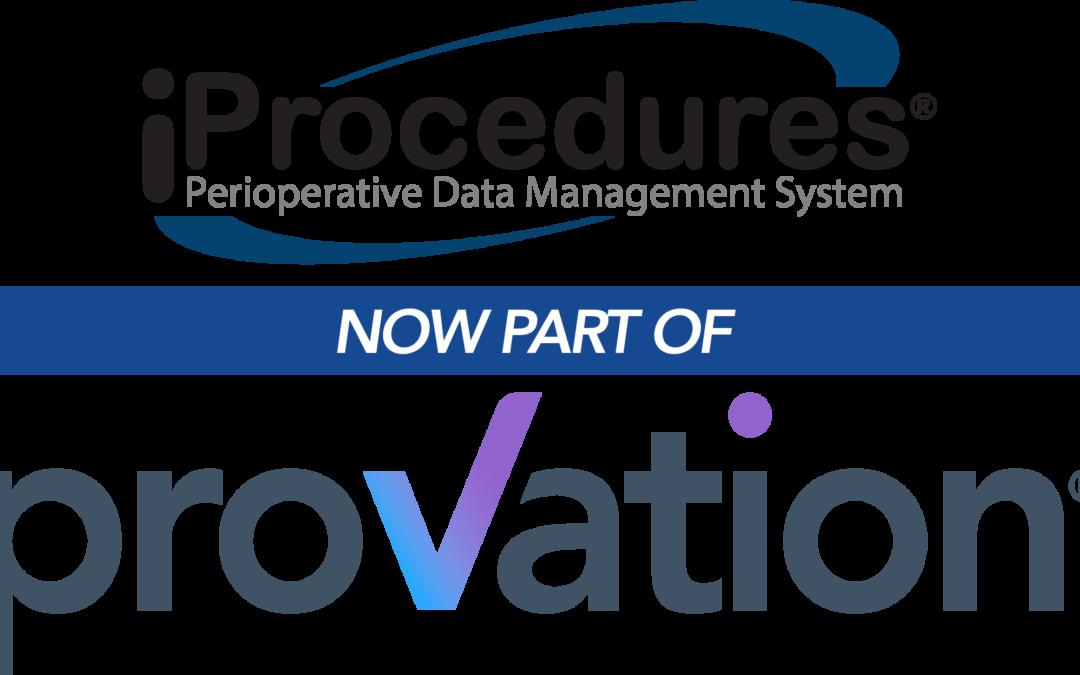 Provation Acquires iProcedures