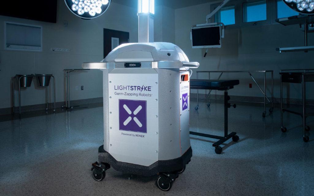 Xenex LightStrike Germ- Zapping Robots