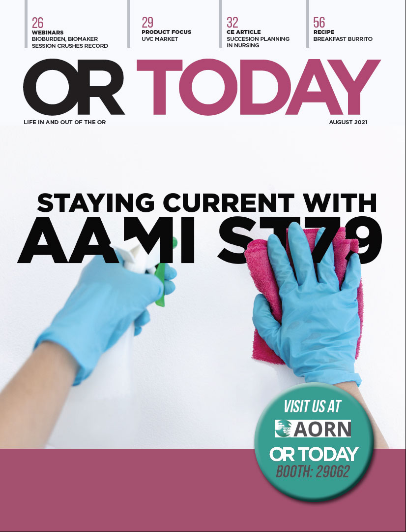 OR Today Magazine August 2021