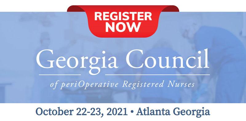 Georgia Council of periOperative Registered Nurses Annual Conference
