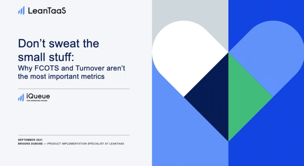 Why Turnovers and Delays Are Not Your Most Important Metrics