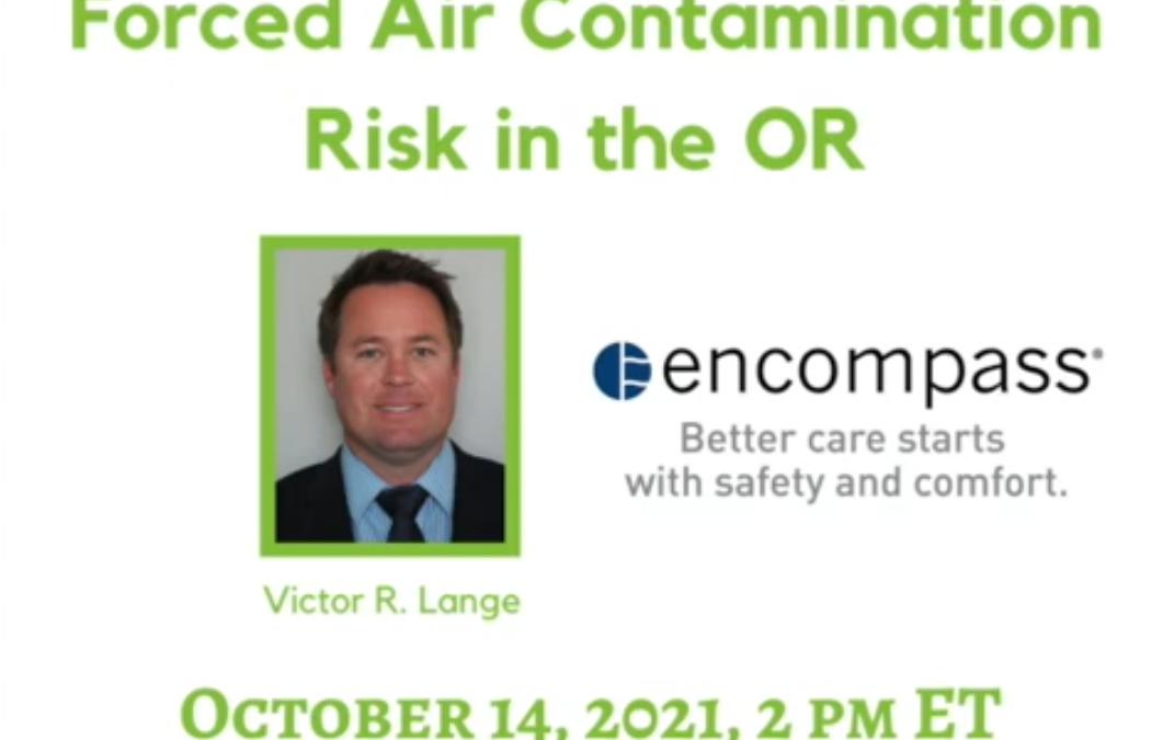 Webinar Examines Forced Air Contamination